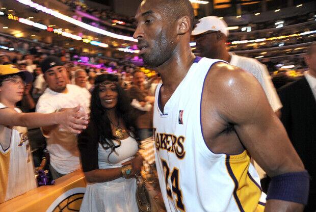 Pamela y Kobe Bryant./ Getty Images