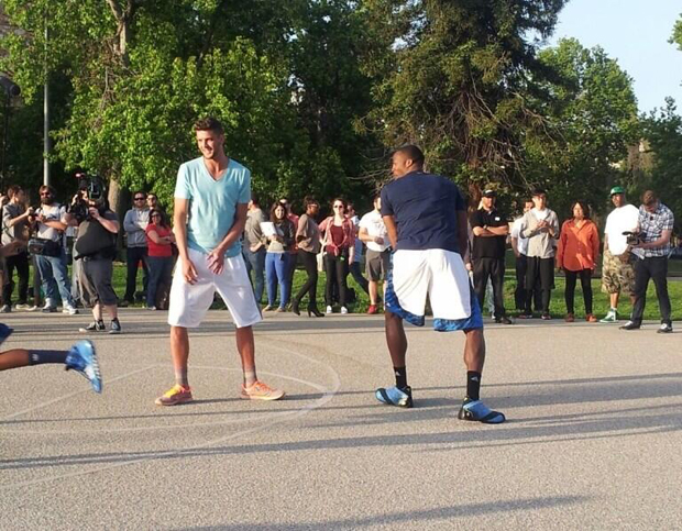 Chandler Parsons y Dwight Howard