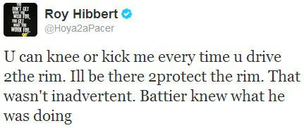 Roy Hibbert Twitter