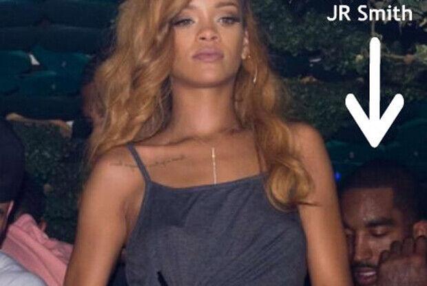 Rihanna y J.R. Smith