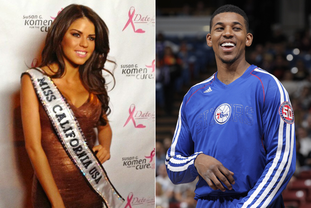 Mabelynn Capeluj y Nick Young