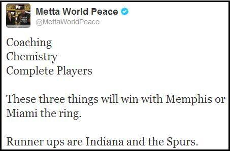 Metta World Peace