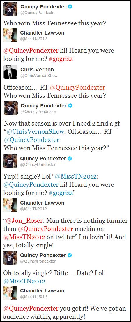 Quincy Pondexter y Chandler Tawson