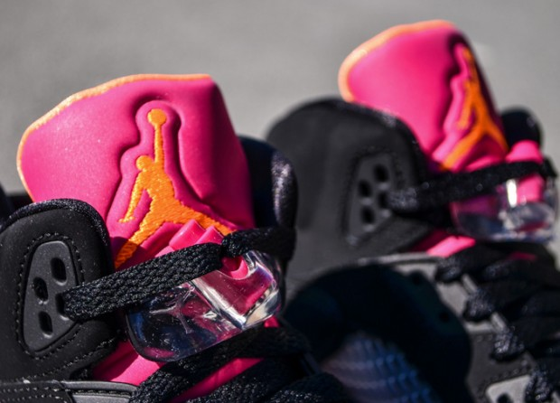 Air Jordan - 5 Retro 'Bright Citrus/Fusion Pink'