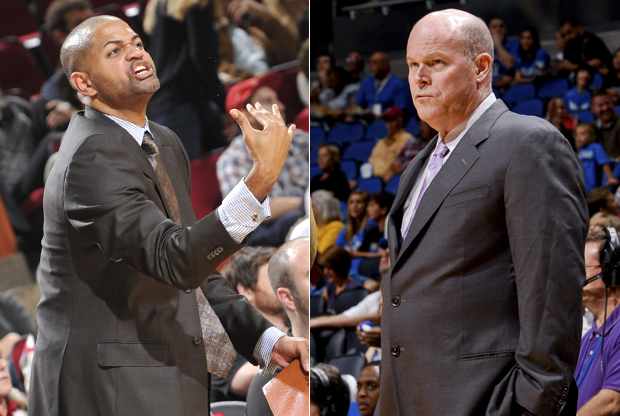 J.B. Bickerstaff y Steve Clifford./ Getty Images