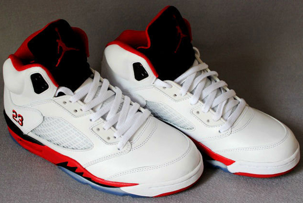 Air Jordan - V 'Fire Red'