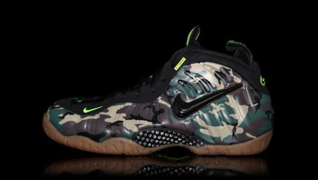 Nike - Air Foamposite Pro 'Army Camo'