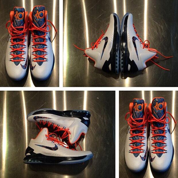 Nike - KD V 'White/ Black/Orange'