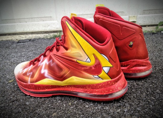 Nike - LeBron X 'The Flash'
