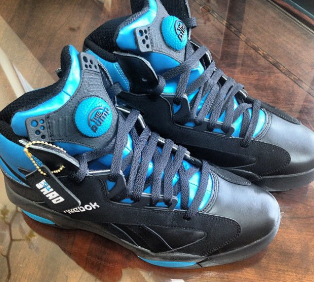 Reebok - Shaq Attaq 'Black/Blue'
