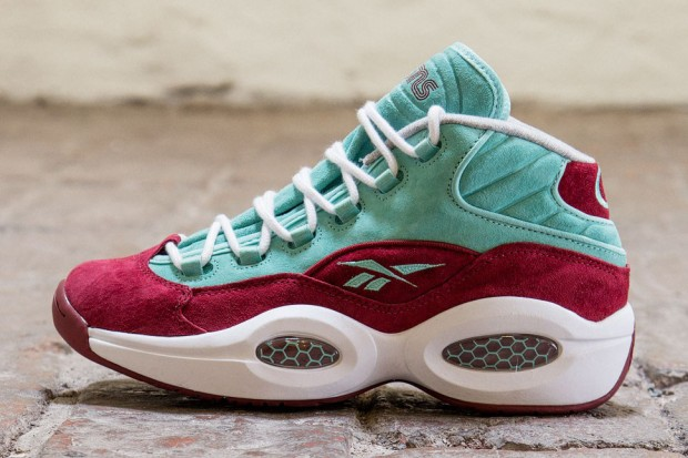 Reebok - Question 'Burgundy/Aqua'