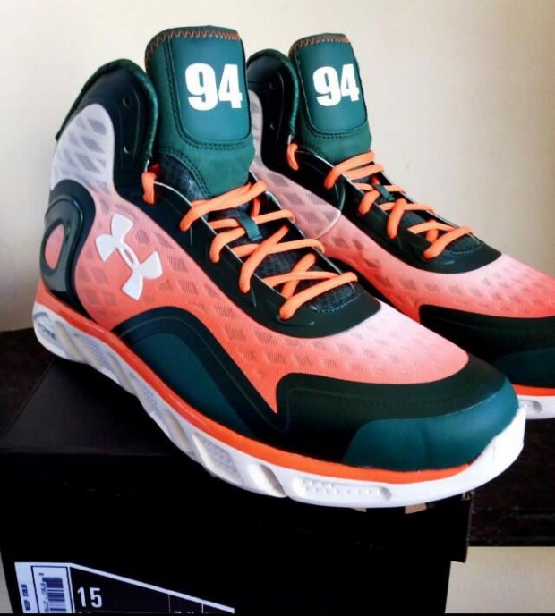 Under Armour - Spine Bionic 'The Rock - Miami Hurricanes'