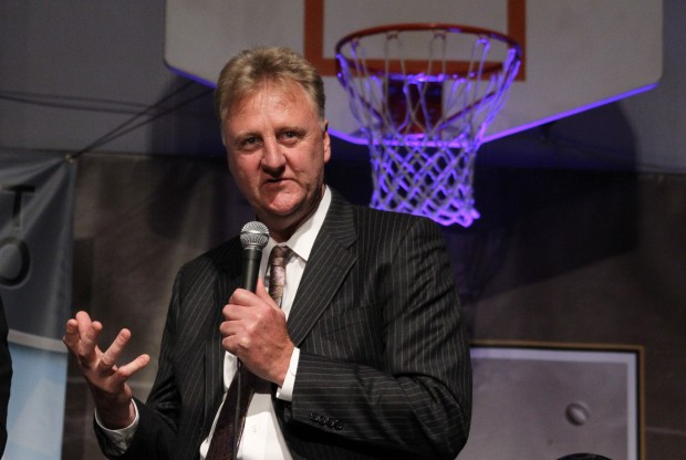 Larry Bird./ Getty Images