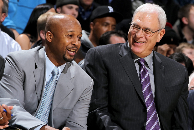 Brian Shaw y Phil Jackson./ Getty Images