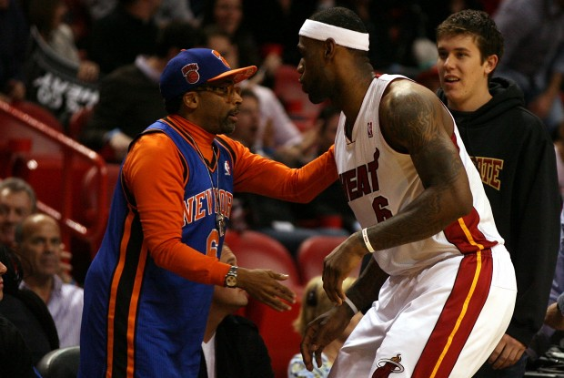 Spike Lee y LeBron James./ Getty Images