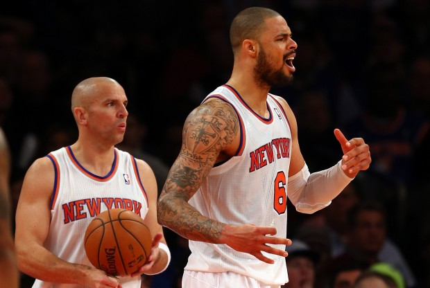 Jason Kidd y Tyson Chandler./ Getty Images