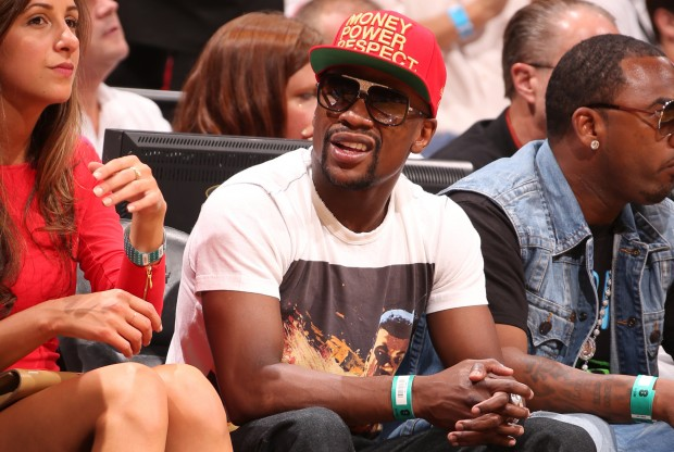 Floyd Mayweather Jr./ Getty Images