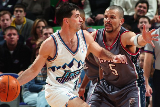 John Stockton y Jason Kidd./ Getty Images