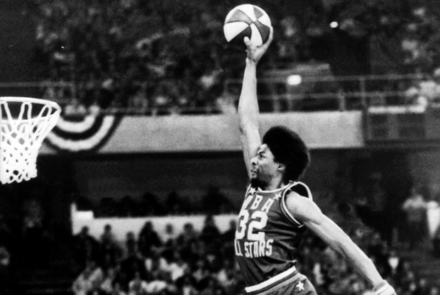 Julius Erving./ Getty Images