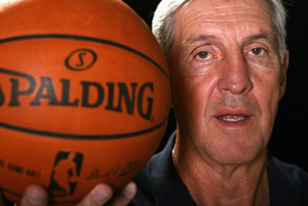 Jerry Sloan./ Getty Images