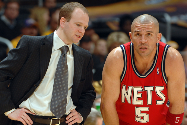 Lawrence Frank y Jason Kidd./ Getty Images