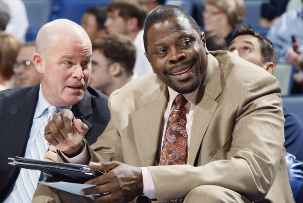 Steve Clifford y Patrick Ewing./ Getty Images