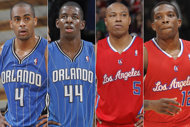 Arron Afflalo, Andre Nicholson, Caron Butler, Eric Bledsoe./ Getty Images