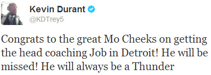 Kevin Durant Twitter