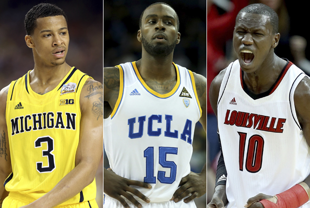 Trey Burke, Shabazz Muhammad, Gorgui Dieng./ Getty Images