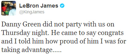 LeBron James./ Twitter