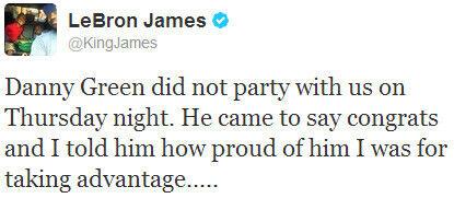 LeBron James./ Twitter