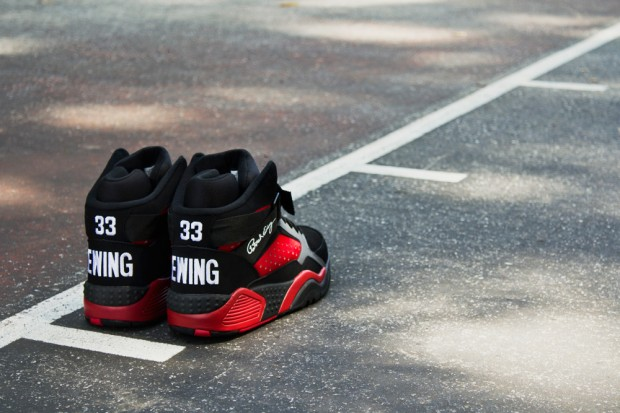 Patrick Ewing Athletics – Focus 'Black & Red'