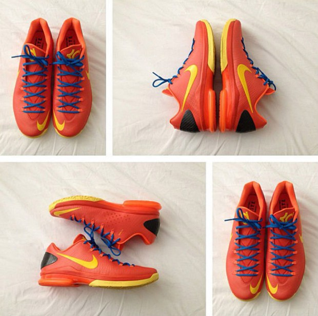 Nike - KD V 'Elite Team Orange Tour - Yellow Total/Orange/Photo Blue'