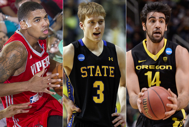 Glen Rice Jr., Nate Wolters y Arsalan Kazemi./ Getty Images