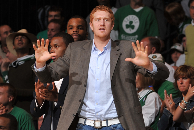 Brian Scalabrine./ Getty Images