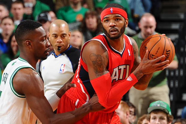 Jeff Green y Josh Smith./ Getty Images
