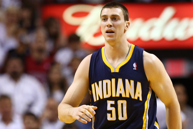 Tyler Hansbrough./ Getty Images