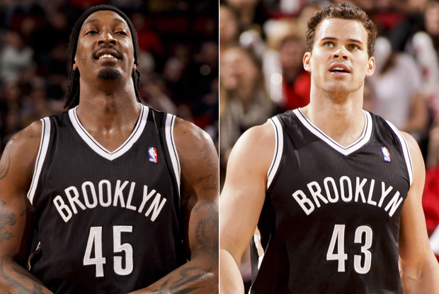 Gerald Wallace y Kris Humphries./ Getty Images