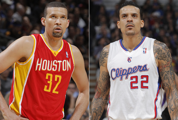 Francisco García y Matt Barnes./ Getty Images