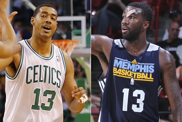 Fab Melo y Donte Greene./ Getty Images