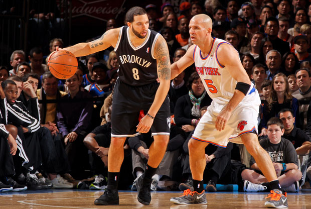 Deron Williams y Jason Kidd / Getty Images