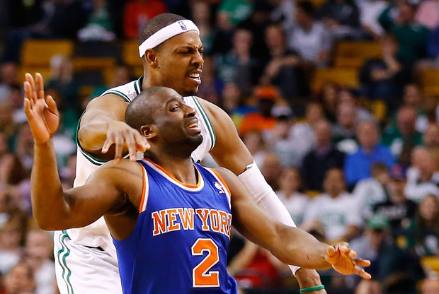 Raymond Felton y Paul Pierce
