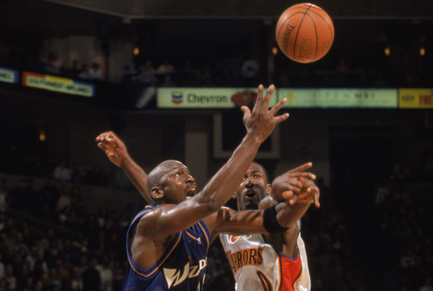 Michael Jordan y Gilbert Arenas / Getty Images