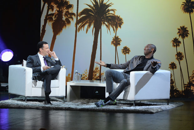 Kobe Bryant y Jimmy Kimmel / Getty Images