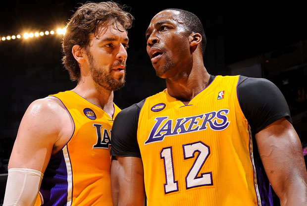 Pau Gasol y Dwight Howard / Getty Images
