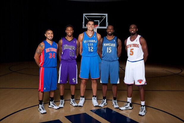 Peyton Siva (Detroit Pistons), Tim Hardaway Jr. (New York Knicks), Ben McLemore (Sacramento Kings), Steven Adams (Oklahoma City Thunder) y Shabazz Muhammad (Minnesota Timberwolves)