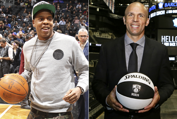 Jay-Z y Jason Kidd./ Getty Images