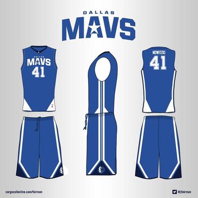 Propuesta para el nuevo uniforme de Dallas Mavericks