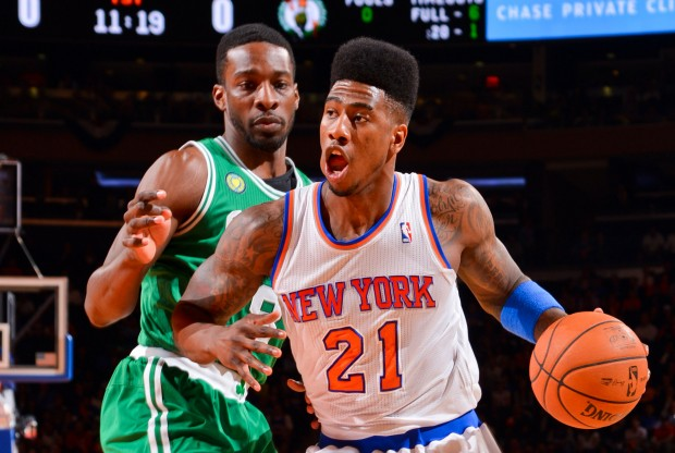 Iman Shumpert y Jeff Green./ Getty Images