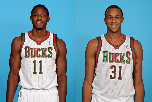 Brandon Knight y John Henson./ Getty Images